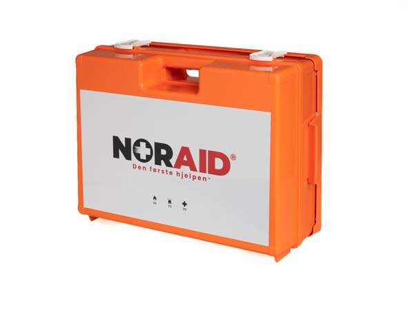 Førstehjelp Noraid koffert m/innhold stor NO