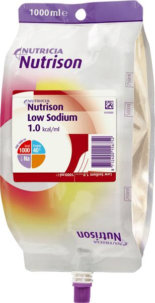 Tilskudd Nutrison Low Sodium 1000ml