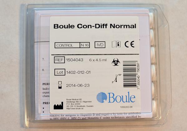Boule Control normal 16p 6x4,5