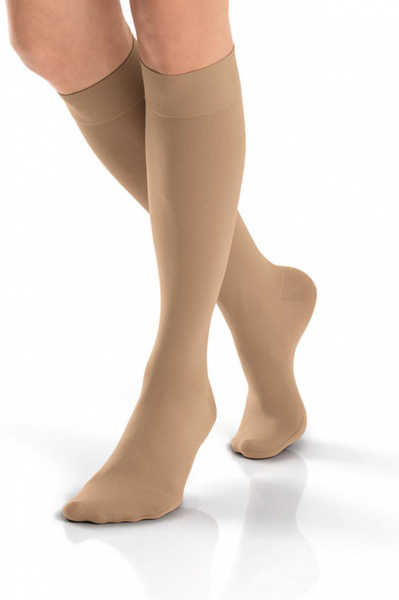 Jobst Opaque kne natural kl 1 XL