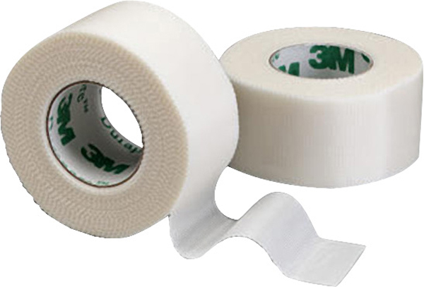 Tape silke Durapore u/dispenser 2,5cmx9,1m
