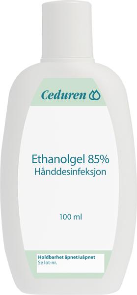 Hånddesinfeksjon Ceduren 85% gel 100ml