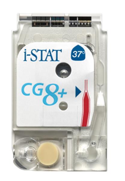 Testkassett I-Stat CG8+