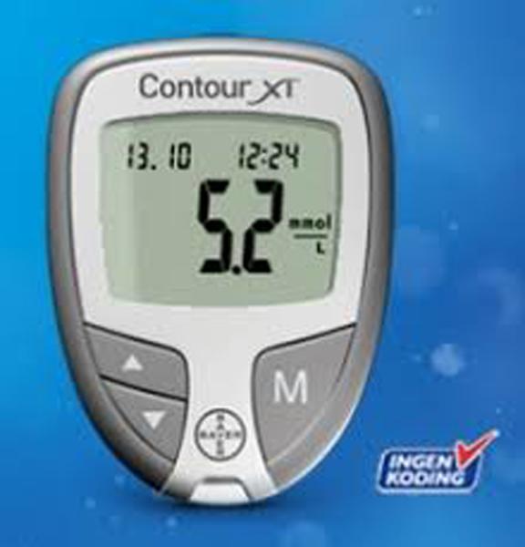 Contour XT glucose apparat