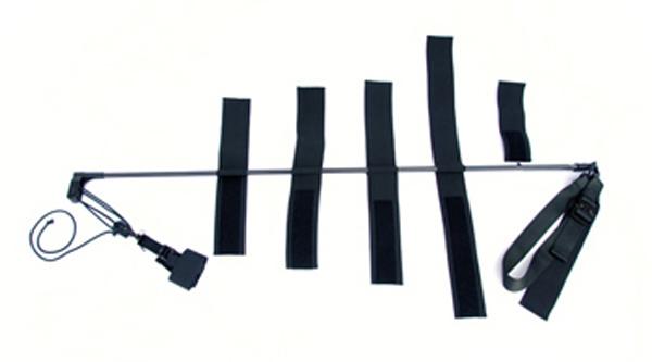 Førstehjelp spjelkeskinne strekk sammenleggb CT-6