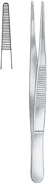 Pinsett anatomisk 13cm