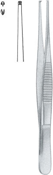 Pinsett kirurgisk 13cm