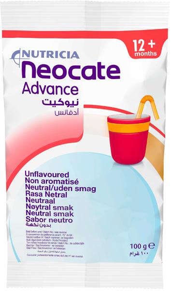 Tilskudd Neocate Advance nøytral barn 100g 10pk