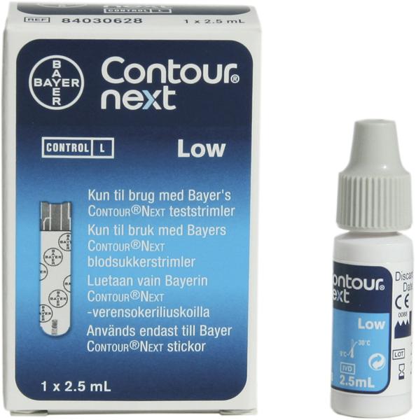 Contours Next glucose kontroll lav