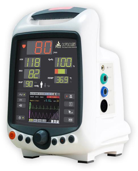 Overvåkningsmonitor IRIS V3.0 NIBP+SpO2+temp+EKG