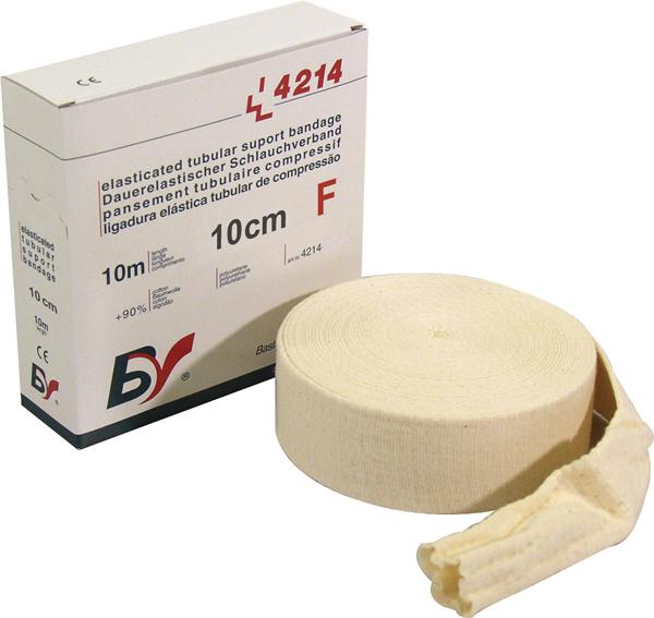 Fiksering Tubeband BV sup F kne/lår 10cmx10m