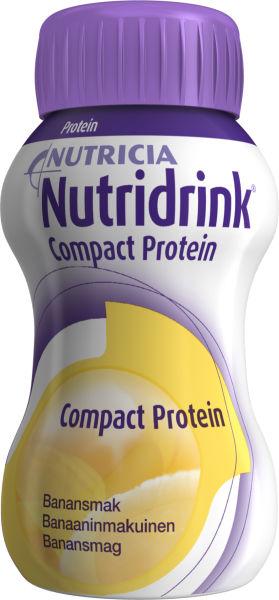 Drikk Nutridrink Compact Prot banan 125ml 4pk
