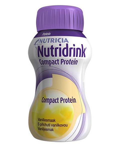 Drikk Nutridrink Compact Prot vanilje 125ml 4pk