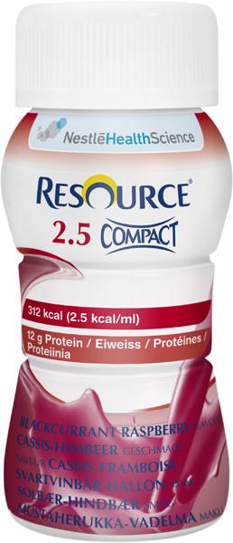 Drikk Resource 2,5 Compact solb/bring 125ml 4pk