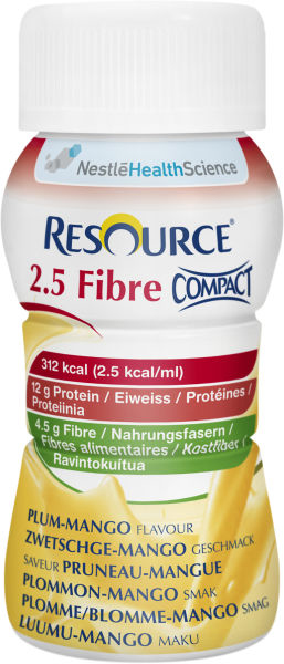 Drikk Resource 2.5 Fibre Compact plo/man 125ml 4pk