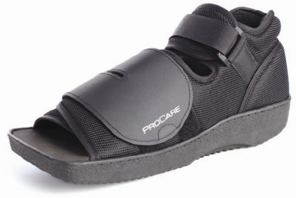 Sko Procare Post-op Squared Toe str S 37-39