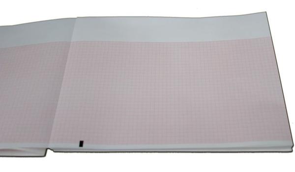 EKG papir Mortara ELI150 pk 200 ark Z-fold