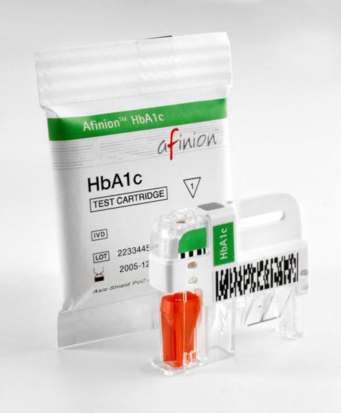 Afinion HbA1c test