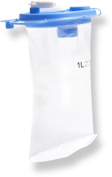 Sug Lærdal LSU Serres pose 1000ml blått lokk 36pk