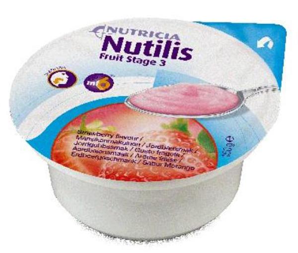 Tilskudd Nutilis Fruit jordbær 150gr