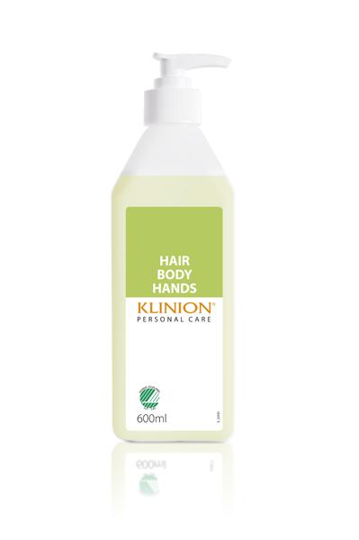 Såpe flytende Klinion HairBodyHands 600ml