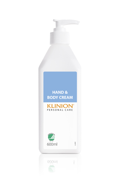 Hånd og hudkrem Klinion m/pumpe 26% 600ml