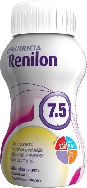 Drikk Renilon 7,5 aprikos 125ml 4pk