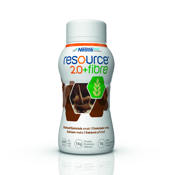 Drikk Resource 2.0+ fiber sjokolade 200ml