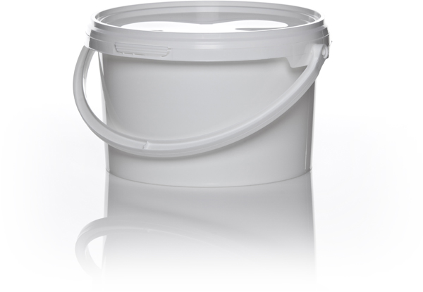 Preparatspann lokk 2,5ltr hvit