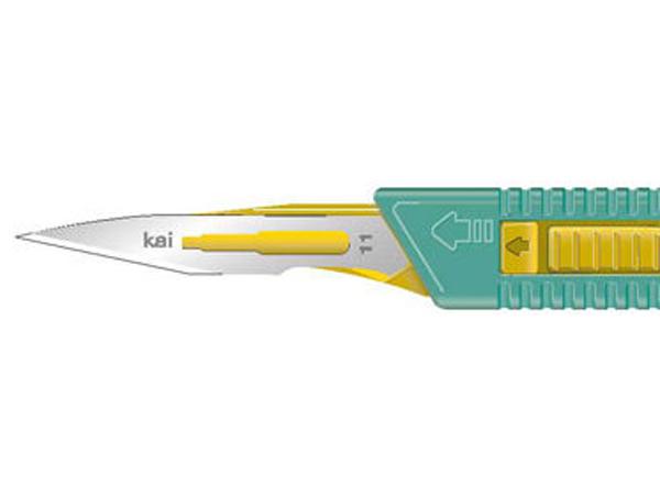 Skalpell steril Kai sikkerhetsskalpell nr. 11