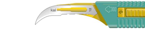 Skalpell steril Kai sikkerhetsskalpell nr. 12