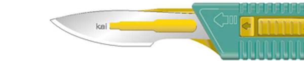 Skalpell steril Kai sikkerhetsskalpell nr. 23