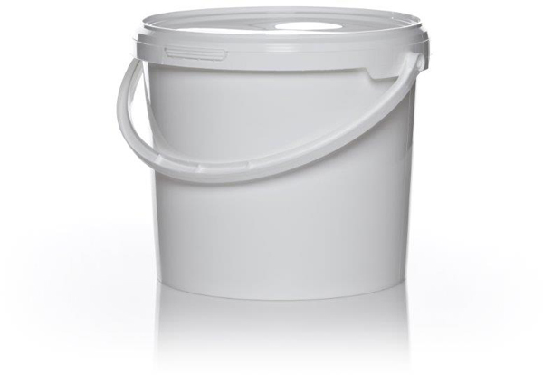 Preparatspann lokk 5,6ltr hvit
