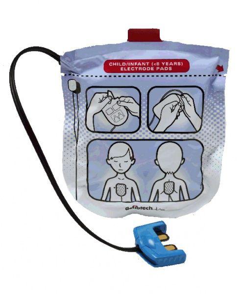 Hjertestarter Lifeline elektrode barn View/Pro