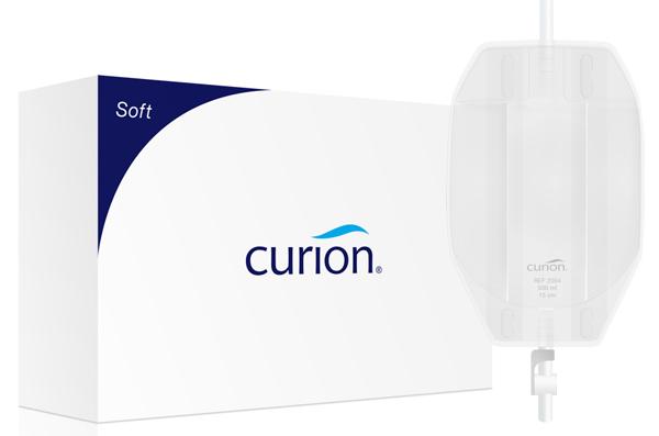 Urinpose Curibag Soft flerk ben hvit 0,5l sl 60cm