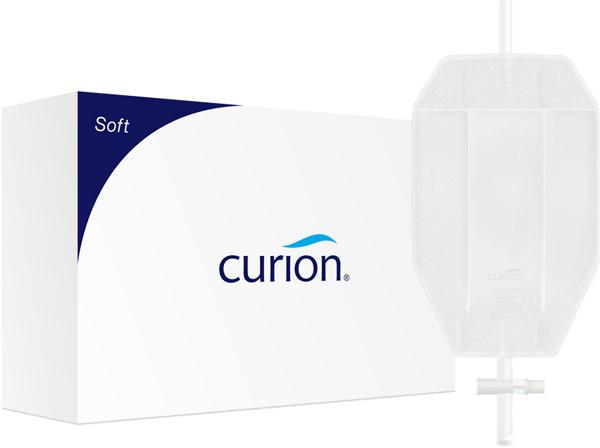 Urinpose Curibag Soft flerk ben hvit 0,75l sl 60cm
