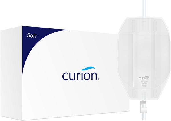 Urinpose Curibag Soft flerk ben hvit 0,5l sl 15cm