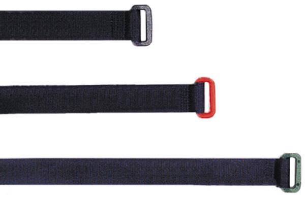 Borrelåsbånd Delta Solo Straps 50cm rød