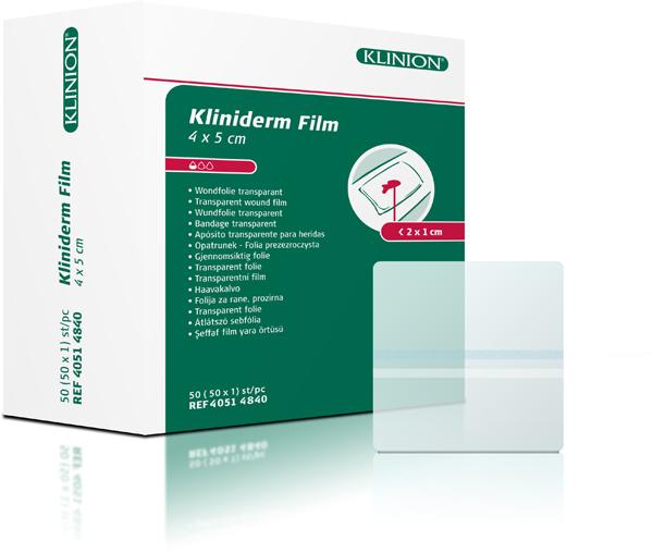 Bandasje transparent Kliniderm Film 4x5cm