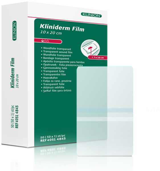 Bandasje transparent Kliniderm Film 10x20cm