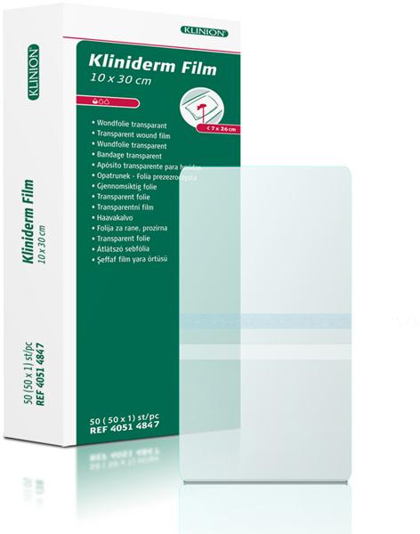 Bandasje transparent Kliniderm Film 10x30cm