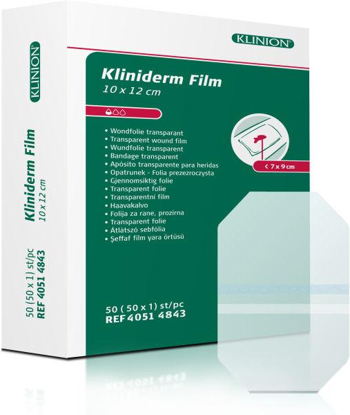 Bandasje transparent Kliniderm Film 10x12cm