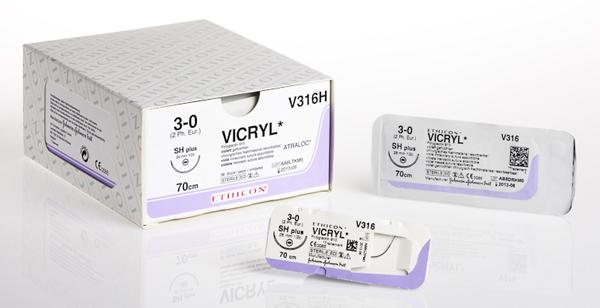 Sutur Vicryl V311H 3-0 SH-1 70cm