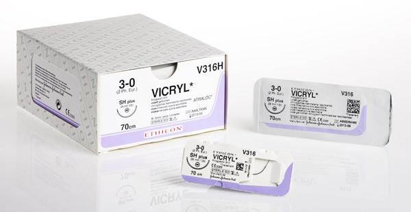 Sutur Vicryl V304H 4-0 RB-1 70cm