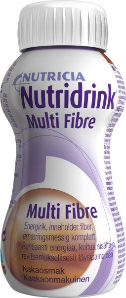 Drikk Nutridrink Multi Fibre sjokolade 200ml
