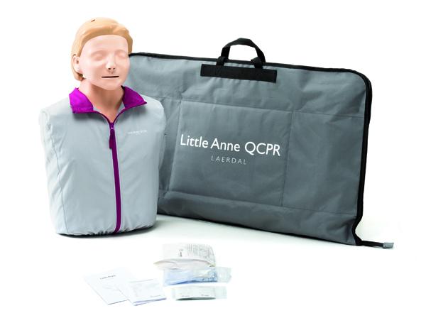 Lærdal dukke Little Anne QCPR torsomodell i bag