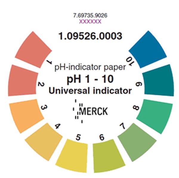 Indikatorpapir pH 1-10 universal 3pk