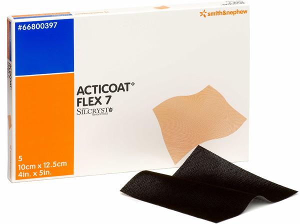 Bandasje sølv Acticoat Flex 7 10x12,5cm