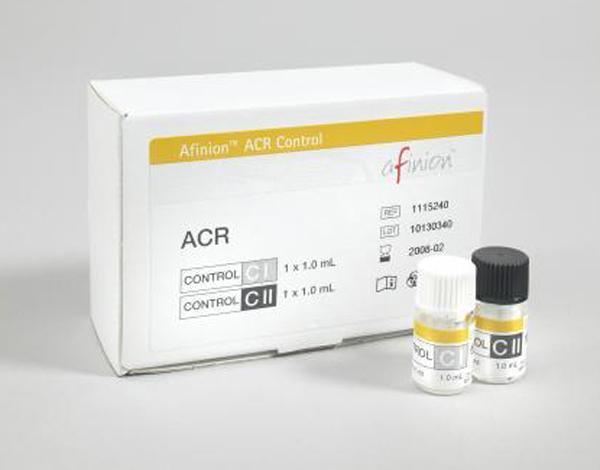Afinion ACR Kontroll lav/høy 2x1x1ml