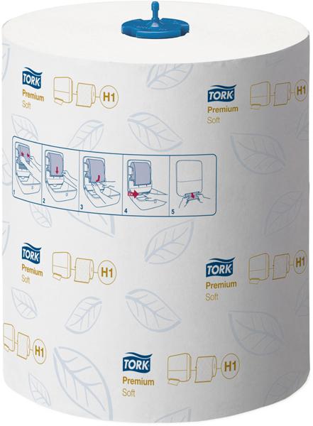 Håndtørkepapir Tork Matic ekstra myk 2-lag 100m rl